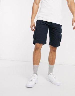 Темно-синие шорты карго -Темно-синий Edwin