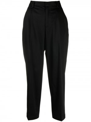 Dart-detail tapered trousers Woolrich. Цвет: черный