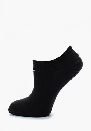 Комплект Nike UNISEX LIGHTWEIGHT NO-SHOW SOCK (3 PAIR). Цвет: черный