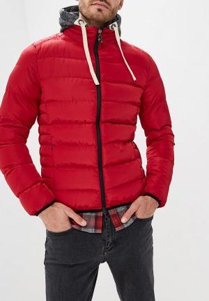 Куртка утепленная M&2. Цвет: красный