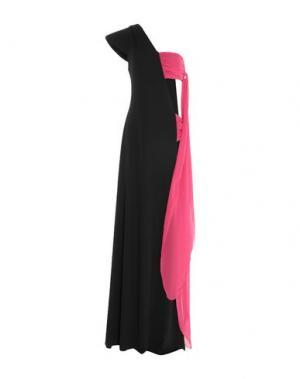 Длинное платье GIUDA. Цвет: черный
