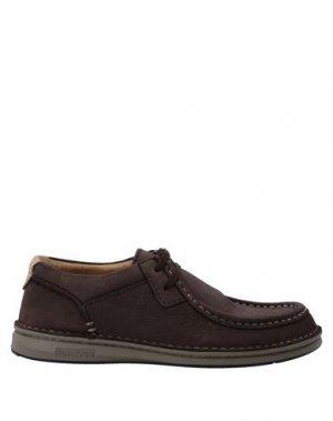 Обувь на шнурках BIRKENSTOCK. Цвет: коричневый