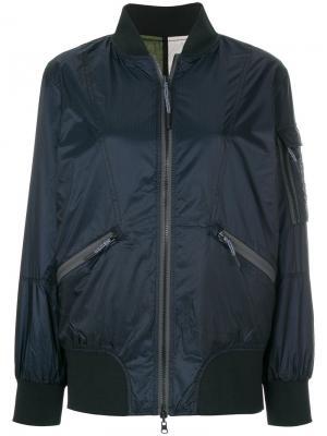 Куртка-бомбер Diesel. Цвет: синий