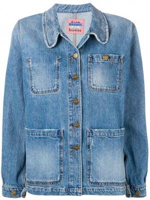 Джинсовая куртка Paloma Acne Studios. Цвет: синий