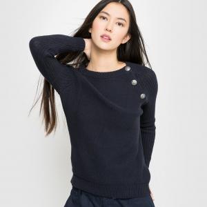 Пуловер La Redoute Collections. Цвет: хаки оливковый