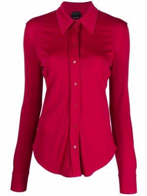Button-down shirt Pinko. Цвет: розовый