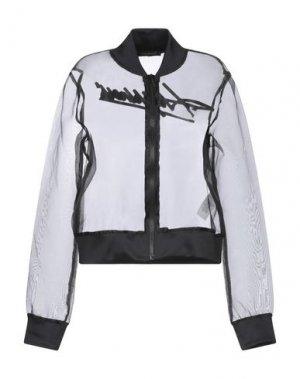 Куртка DANIELE ALESSANDRINI. Цвет: черный