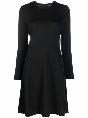 Платье-джемпер с длинными рукавами Calvin Klein. Цвет: черный