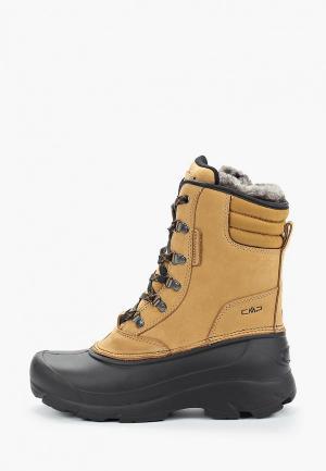 Ботинки CMP KINOS WMN WP 2.0. Цвет: коричневый