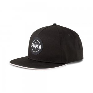Кепка Basketball FB Logo Cap PUMA. Цвет: черный