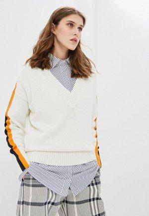 Пуловер Hugo Sumala. Цвет: бежевый