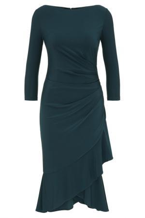 Платье Apart. Цвет: изумрудный
