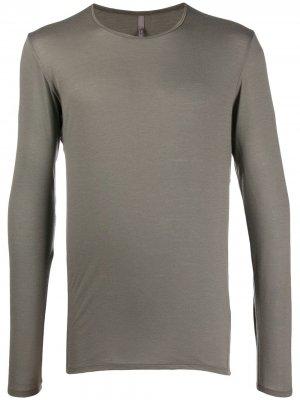 Трикотажная футболка Arc'teryx Veilance. Цвет: серый