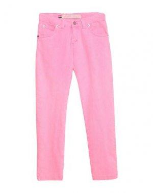 Повседневные брюки ALLIGALLI. Цвет: розовый