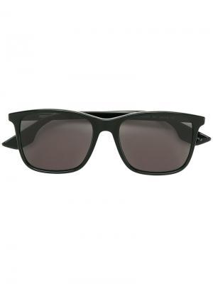 Солнцезащитные очки с квадратной оправой Mcq By Alexander Mcqueen Eyewear. Цвет: чёрный