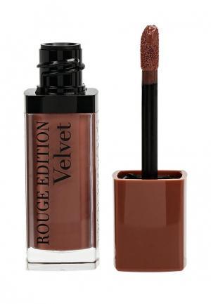 Помада Bourjois Rouge Edition Velvet, 32 Trop Brunche, 7,7 мл. Цвет: коричневый