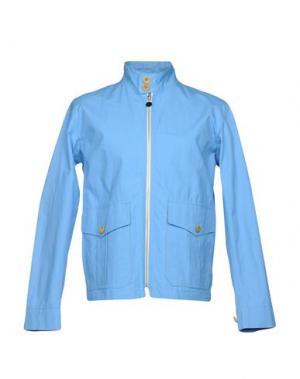 Куртка GLOVERALL. Цвет: лазурный