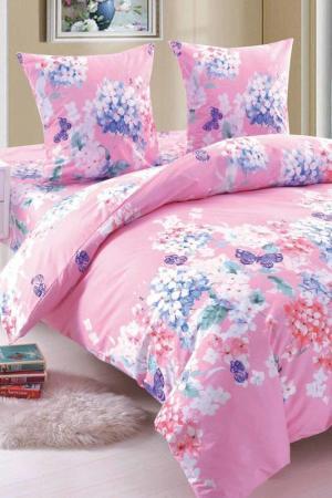 Постельное белье, 2-сп. Amore Mio. Цвет: розовый, белый, синий