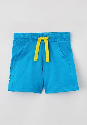 Шорты спортивные United Colors of Benetton. Цвет: голубой