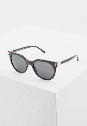Очки солнцезащитные Dolce&Gabbana DG6117 501/87. Цвет: черный