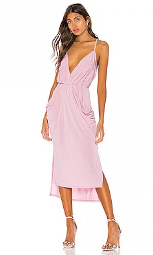 Платье миди BCBGeneration. Цвет: фиолетовый