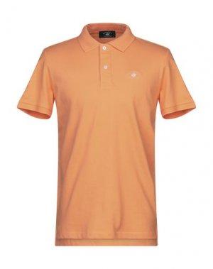 Поло BEVERLY HILLS POLO CLUB. Цвет: оранжевый
