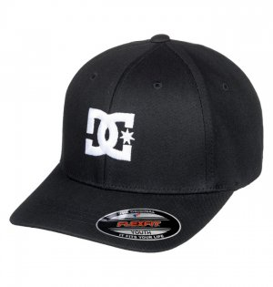 Детская бейсболка DC shoes Flexfit® Cap Star. Цвет: черный