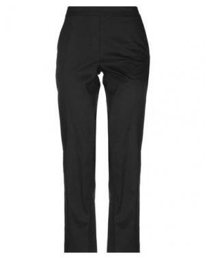 Повседневные брюки LABORATORIO. Цвет: черный