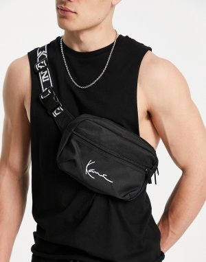 Черная сумка -Черный Karl Kani