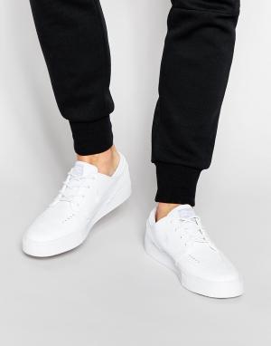 Белые кожаные кроссовки Stefan Janoski 616490-110 Nike SB. Цвет: белый