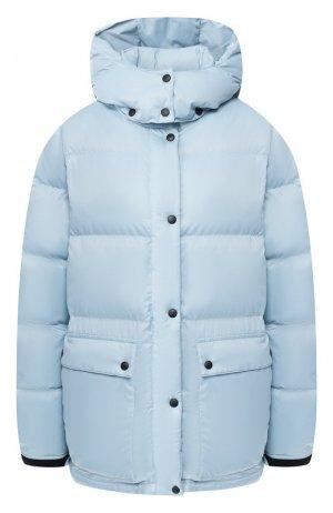 Пуховик с капюшоном Arctic Explorer. Цвет: голубой