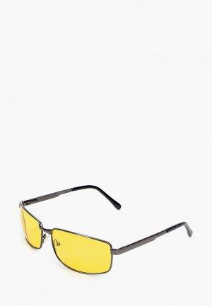 Очки солнцезащитные Grand Voyage для водителей. Цвет: серый