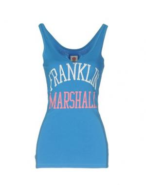 Майка FRANKLIN & MARSHALL. Цвет: синий