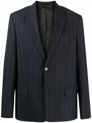 Пиджак Harrison в полоску Filippa K. Цвет: синий