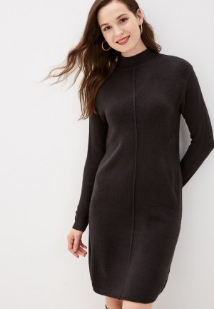 Платье b.young. Цвет: серый