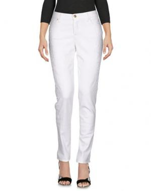Джинсовые брюки 7 FOR ALL MANKIND. Цвет: белый
