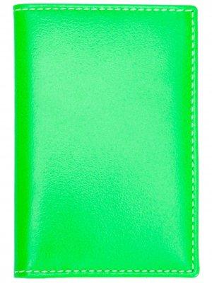 Бумажник Super Fluo Comme Des Garçons Wallet. Цвет: зеленый