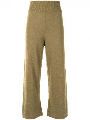 Широкие брюки Cynthia Altuzarra. Цвет: зеленый