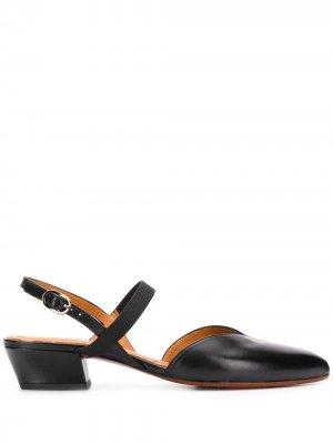 Туфли-лодочки Freya с ремешками и заостренным носком Chie Mihara. Цвет: черный