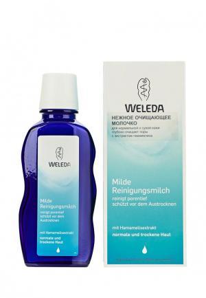 Молочко для лица Weleda нежное очищающее нормальной и сухой кожи 100 мл. Цвет: прозрачный
