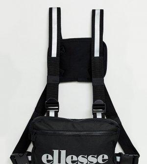 Черная сумка-кошелек Marsu эксклюзивно для ASOS ellesse. Цвет: черный