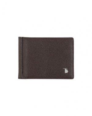 Бумажник TOD'S. Цвет: темно-коричневый