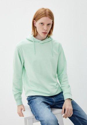 Худи Indicode Jeans. Цвет: зеленый