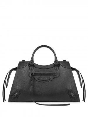 Большая сумка-тоут Neo City Balenciaga. Цвет: черный