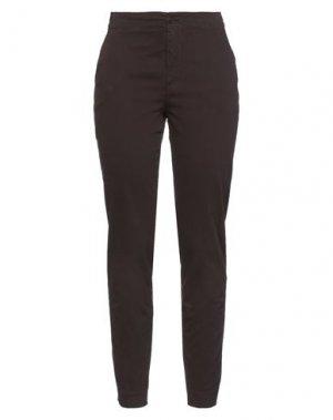 Повседневные брюки EUROPEAN CULTURE. Цвет: какао