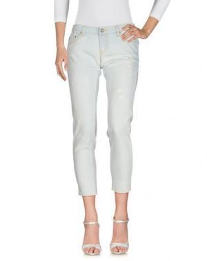 Джинсовые брюки DEPT DENIM DEPARTMENT. Цвет: синий