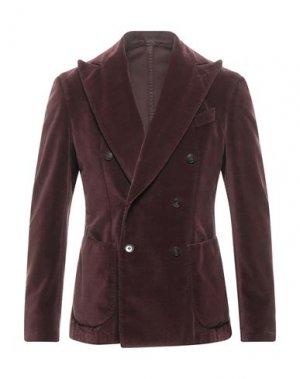 Пиджак BRANDO. Цвет: красно-коричневый