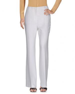 Повседневные брюки COSTUME NATIONAL. Цвет: белый