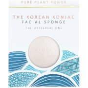 Спонж для лица  Elements Water Facial Sponge — 100% Pure White 30 г The Konjac Company