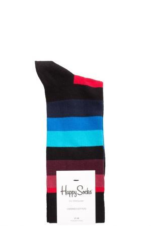 Носки HAPPY SOCKS. Цвет: мультицвет, полоска
